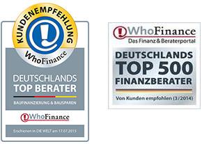 WhoFinance - weitere Informationen über Finanzierung